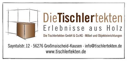 historie, logo, tischlertekten, schreiner, tischler, schreinerei, westerwald, montabaur, ransbach-baumbach, dierdorf, großmaisscheid, kausen