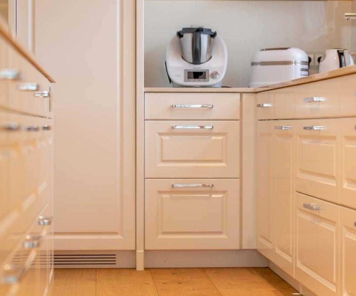 Sauber gefertigte Küchenfront