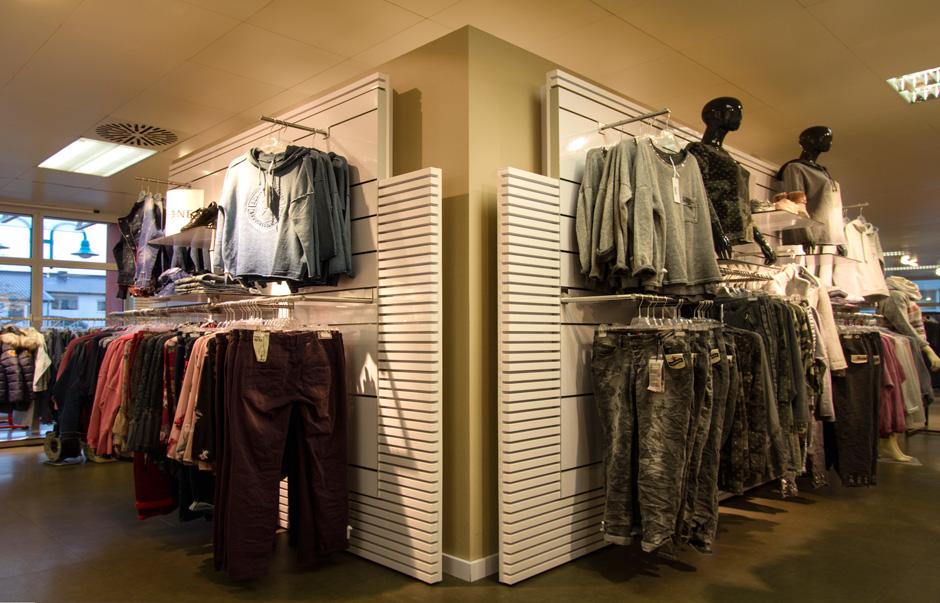 Modehaus, Geschäftseinrichtung, Laden, Verkauf, Mode, Regal, Ladenbau, Normann