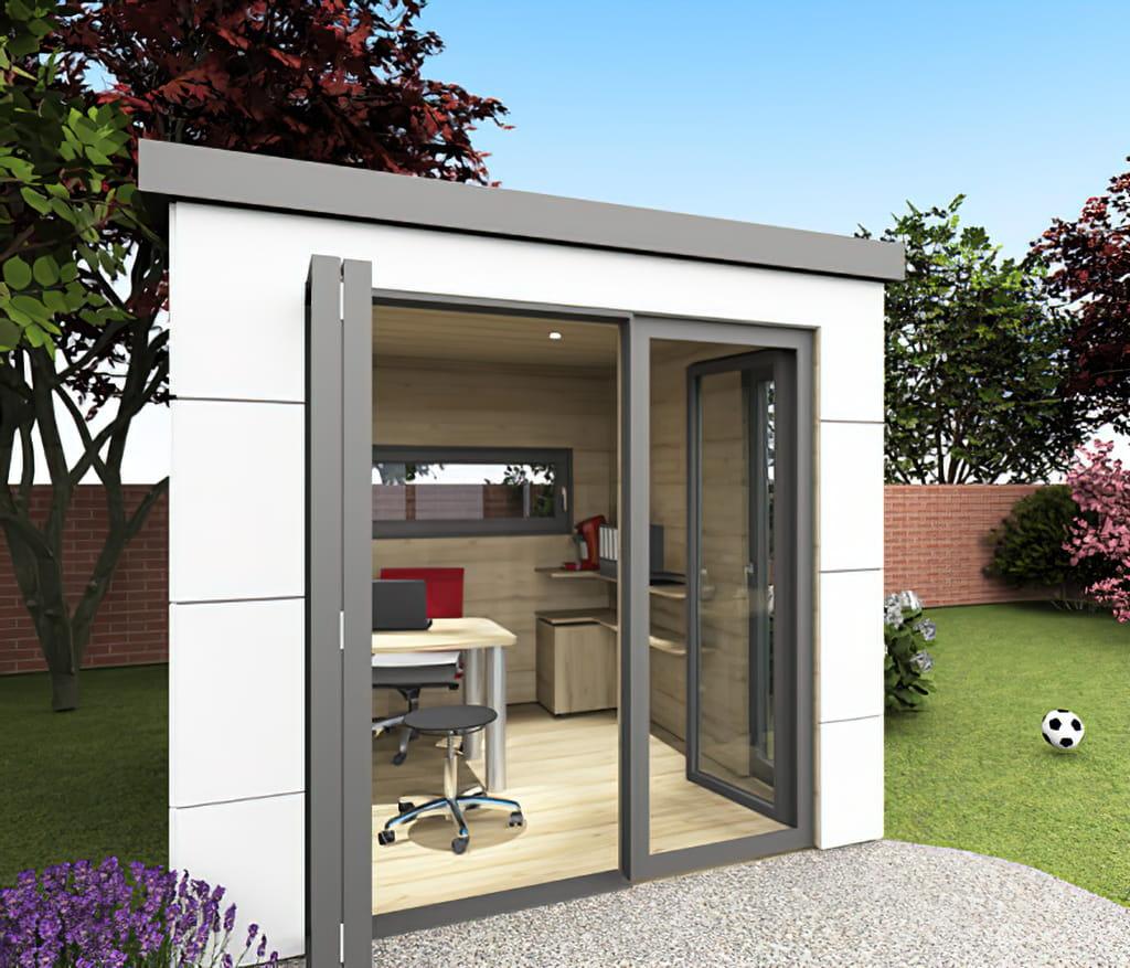 Homebox - das Homeoffice im Garten oder auf der Terrasse