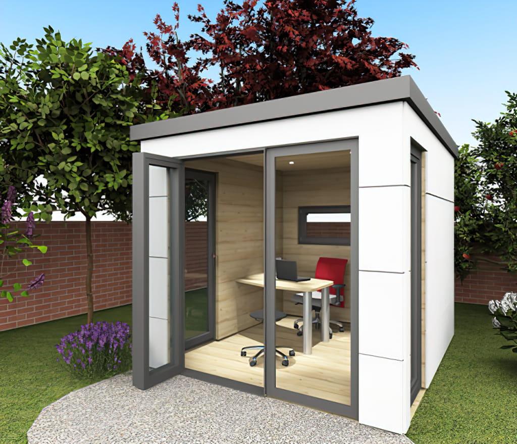 homeoffice im Garten: mit der Homebox